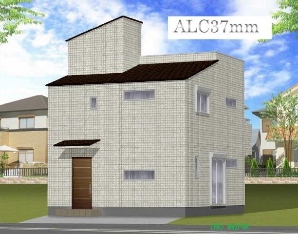 比類なき壁ヘーベルパワーボード使用の高気密高断熱2×4のお家。