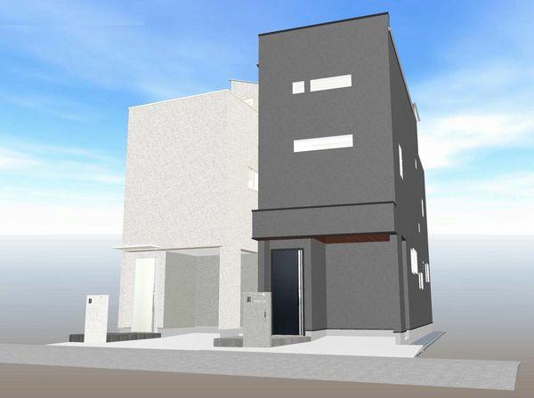 建物完成予想図