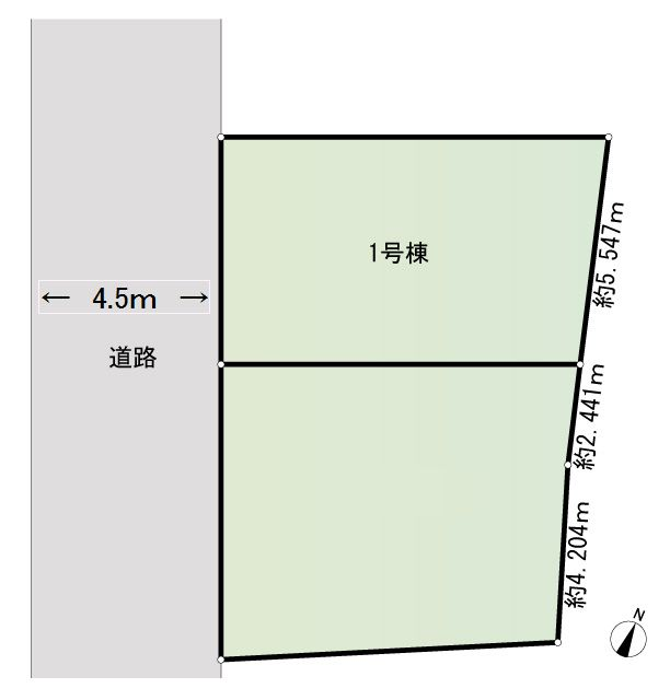 1号棟区画図