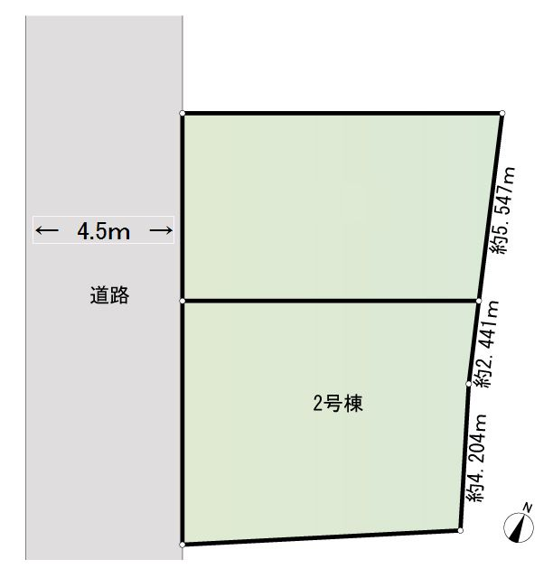2号棟区画図