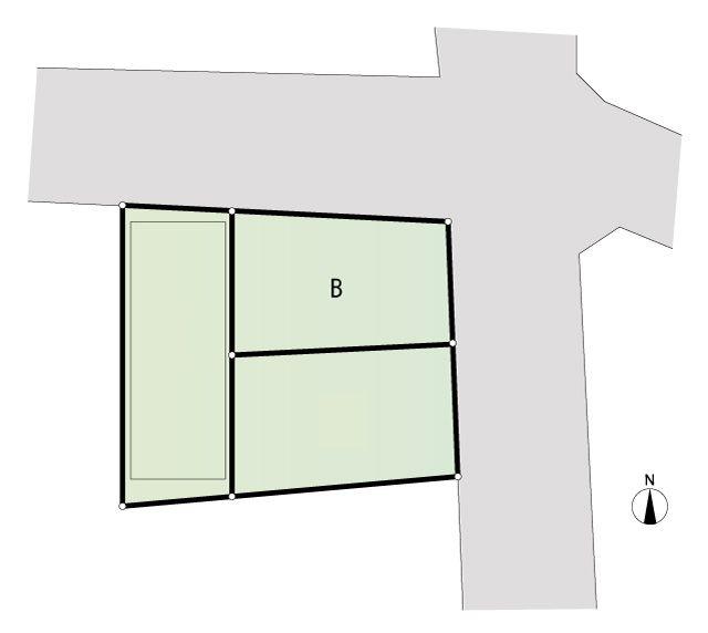 B号棟 区画図