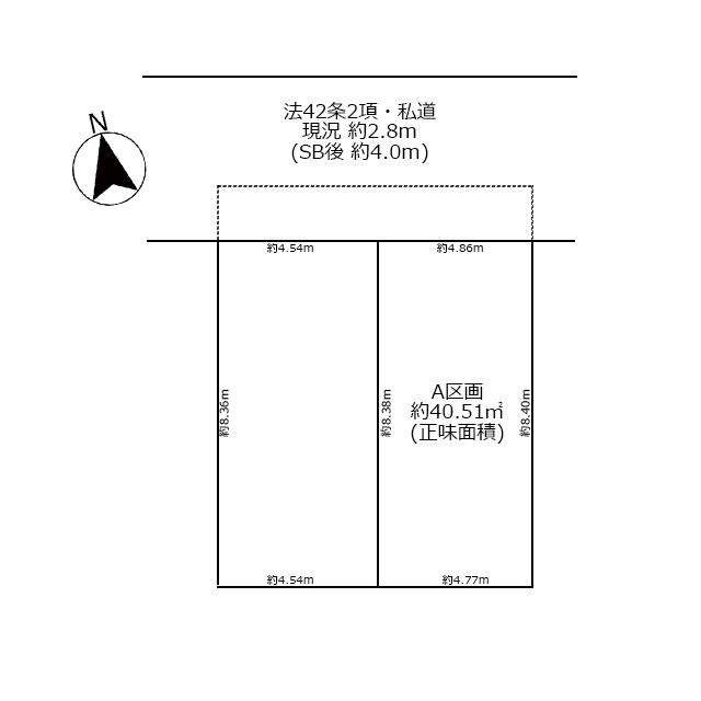 A号棟:区画図