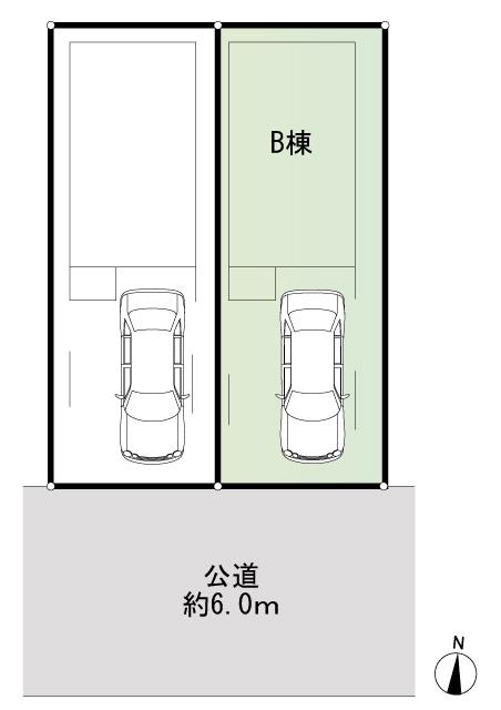 B棟 区画図