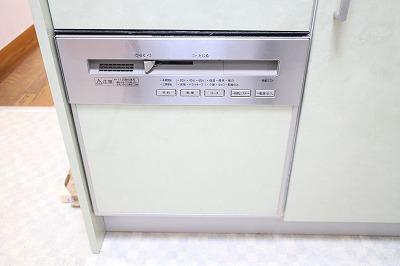 キッチンには食洗機がついています